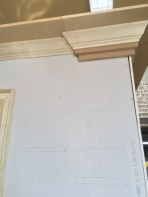 Some simply crown molding I installed.