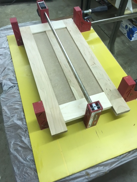 door gluing up