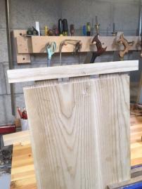 assembling a bread-board end
