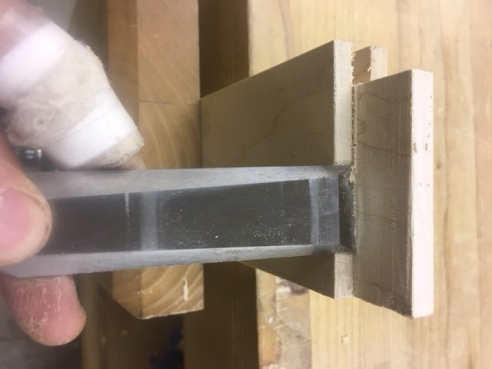 trimming tenon